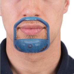 Grzebień do modelowania brody - plastikowy szablon 5 sztuk