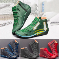 Arch support - zamszowe buty wspierające piętę - wodoodporne
