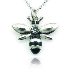 Crystal bee - collar