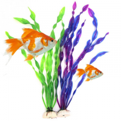 Artificial plastic grass plant - aquarium decoration