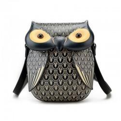 Modny wzór sowy - mini torba na ramię & crossbody