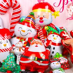 Merry Christmas - aluminum balloons