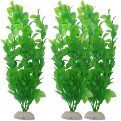Aquarium artificial green grass - plant 26cm
