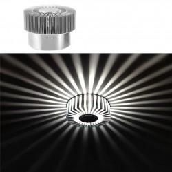 Smart LED 3W - aluminiowa lampa sufitowa - pilot - RGB - ściemnialna