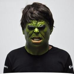 Halloween realistic full face latex mask