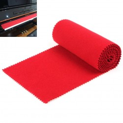 Anti-dust protective piano keyboard cover