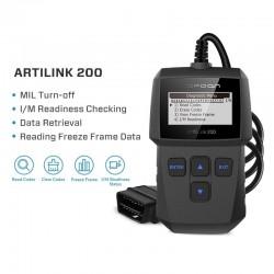 ArtiLink 200 - outil de diagnostic de voiture - scanner OBDII OBD2 - lecteur de code X431 3001