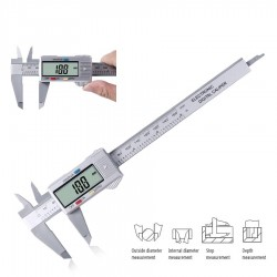 150mm LCD digital vernier caliper - electronic micrometer - measuring tool