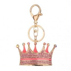 Kryształowa korona - brelok