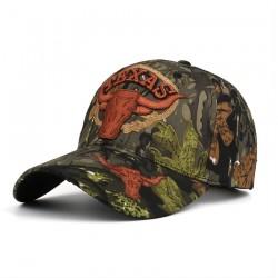 Texas - haftowana czapka z daszkiem - unisex