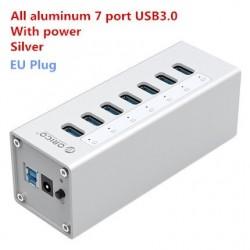 Orico A3H7 A3H10 A3H4 - aluminum high-speed splitter - 7-port - USB 3.0