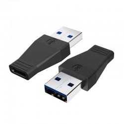 Robotsky - USB 3.0 do typu-C żeński adapter - konwerter