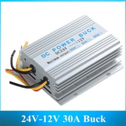Car inverter 24V to 12V 30A converter - power supply transformer