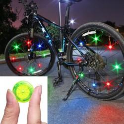 Eclairage de roue de vélo - Lampe LED - Imperméable - TL2411