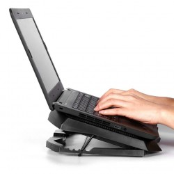 H1 3 tryby - 3 wentylatory - 2 USB - podkładka chłodząca laptopa - podstawa
