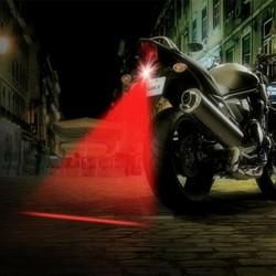Faros antiniebla láser para motocicletas - luz trasera