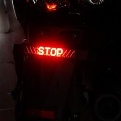 Fanale posteriore a LED per motocicletta - Indicatore di STOP - Striscia LED luci di svolta