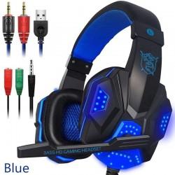 PC780 - słuchawki do gier - przewodowy zestaw słuchawkowy z mikrofonem & LED