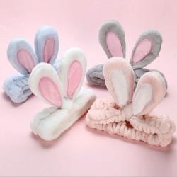 Miękka opaska z uszami królika