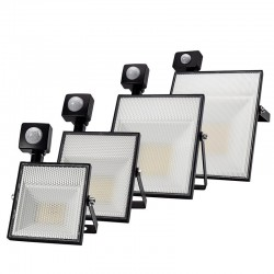 15W 30W 45W 60W / AC220V / SMD2835 LED flood light with adjustable motion sensor