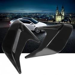 Otwory boczne samochodu - błotnik przepływu powietrza - dekoracyjna naklejka 2 sztuki