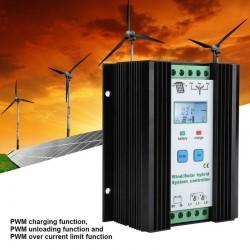 Hybrydowy kontroler wiatru i energii słonecznej 12V PWM - inteligentne sterowanie cyfrowe - regulator doładowania