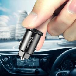 Mini 3.1A uniwersalna szybka ładowarka samochodowa z podwójnym USB