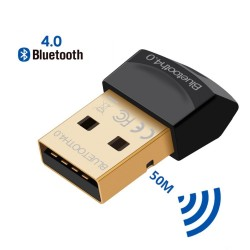 Bluetooth V4.0 CSR - 2,4 GHz - dubbele modus - mini draadloze USB-adapter