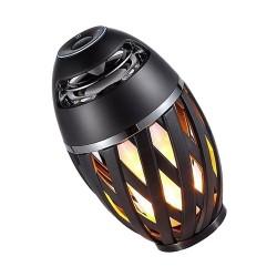 Bezprzewodowy głośnik dotykowy Bluetooth z migającymi diodami LED