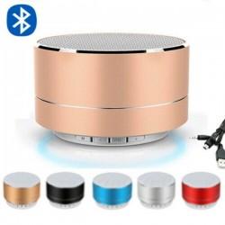 Mini altoparlante wireless Bluetooth con LED - super bassi