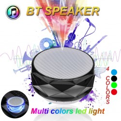 Kabelloser Bluetooth-Lautsprecher mit LED - unterstützt TF-Karte