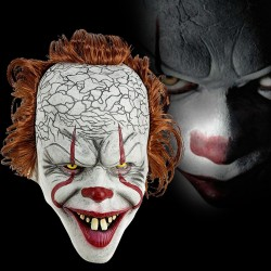 Masque de clown - masque d'Halloween - visage intégral