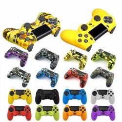 Playstation PS4 Pro Slim - ochronna skóra dla kontrolera & 2 nasadki na kciuki