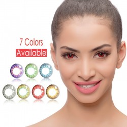 Eye color changing contacts lenses