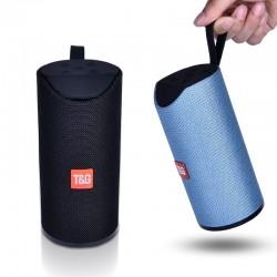 Głośnik Bluetooth - przenośna bezprzewodowa mini kolumna - 3D 10W - karta FM TF