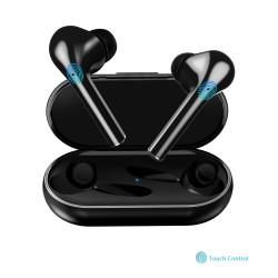 Bluetooth V5.0 - dotykowy zestaw słuchawkowy - bezprzewodowe podwójne słuchawki douszne TWS