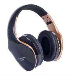 Bezprzewodowe słuchawki Bluetooth - redukujące hałas - składane - stereo bas - regulowane słuchawki z mikrofonem