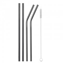 Reusable - stainless steel drinking straws