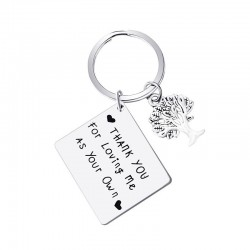 """""""Thank You For Loving Me"""" - keychain"""