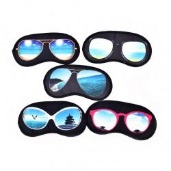 Maska do spania ze wzorem okularów przeciwsłonecznych - maska na oczy
