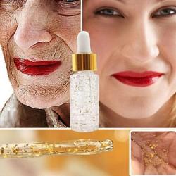 Podkład - baza pod makijaż - 24-karatowe złoto - kontrola tłustej skóry - rozjaśnienie - nawilżenie - wygładzenie
