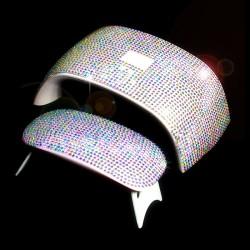Autocollant brillant 3D pour lampe sèche-ongles UV 6W / 24W - auto-adhésif