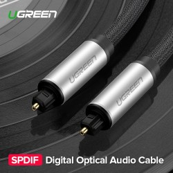 Ugreen Toslink - cyfrowy kabel optyczny - adapter audio 1m - 1,5m - 2m - 3m