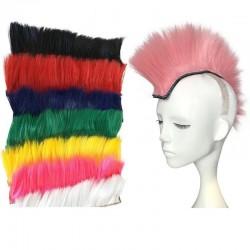 Punkowe włosy na kaski motocyklowe i narciarskie