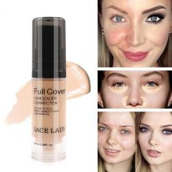 Full cover - płynny korektor do makijażu - wygładzający - wodoodporna baza 6ml