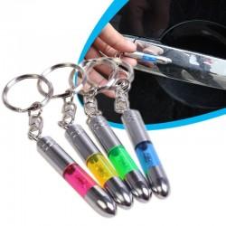 Porte-clés en métal antistatique - LED intégrée