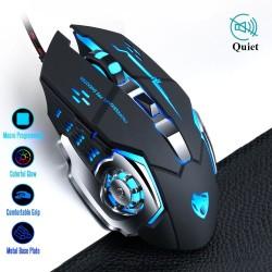 8D 3200DPI - regulowana - przewodowa optyczna mysz do gier - LED - USB