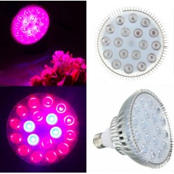 E27 54W LED Plant Grow Light Hydroponic