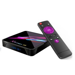 X88 Pro X3 Amlogic S905X3 4GB RAM 64GB ROM 5G WIFI Bluetooth 4.1 8K Android 9 - TV Box