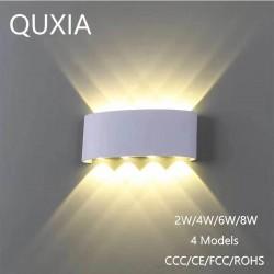 Moderne aluminium wandlamp LED - 2W - 4W - 6W - 8W